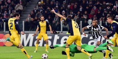 9 de diciembre de 2014. Con un empate sin goles, Juve logró el pase a octavos de final Foto:AFP