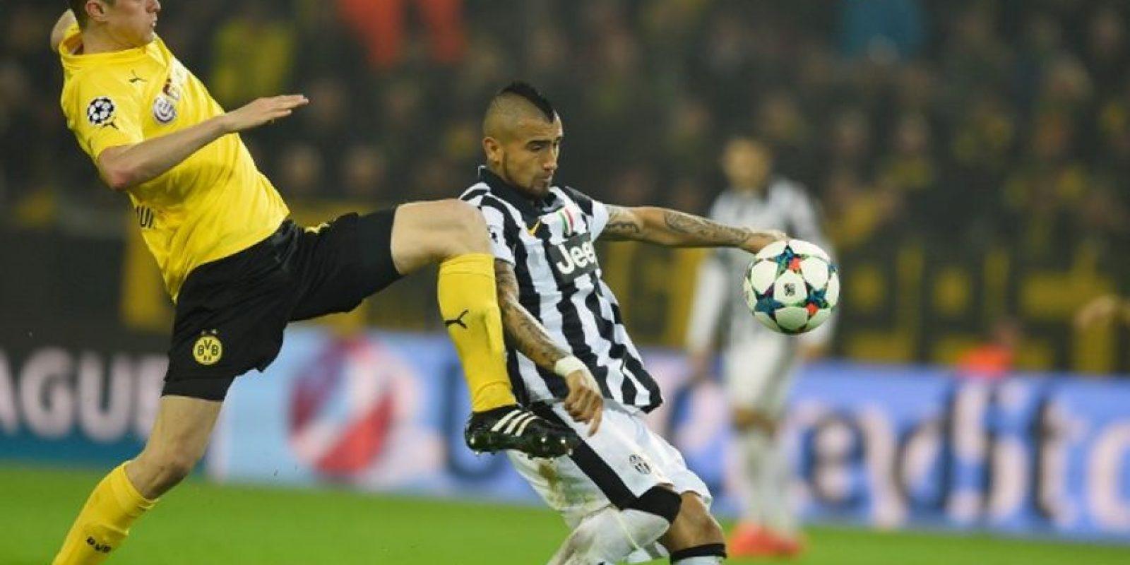 18 de marzo de 2015. En el duelo de vuelta, la Juve superó 3-0 a los alemanes
