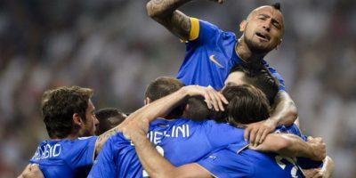 13 de mayo de 2015. En el partido de vuelta de semis, empataron 1-1 para conseguir su pase a la final de la Champions Foto:AFP