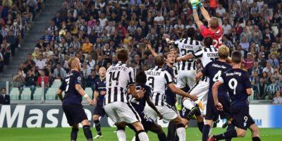 """16 de septiembre 2014. El debut de la """"Vecchia Signora"""" fue con un triunfo. Con un doblete de Carlos Tévez (59′ y 90′), el equipo de Turín venció 2-0 a Malmö de Suecia. Foto:AFP"""
