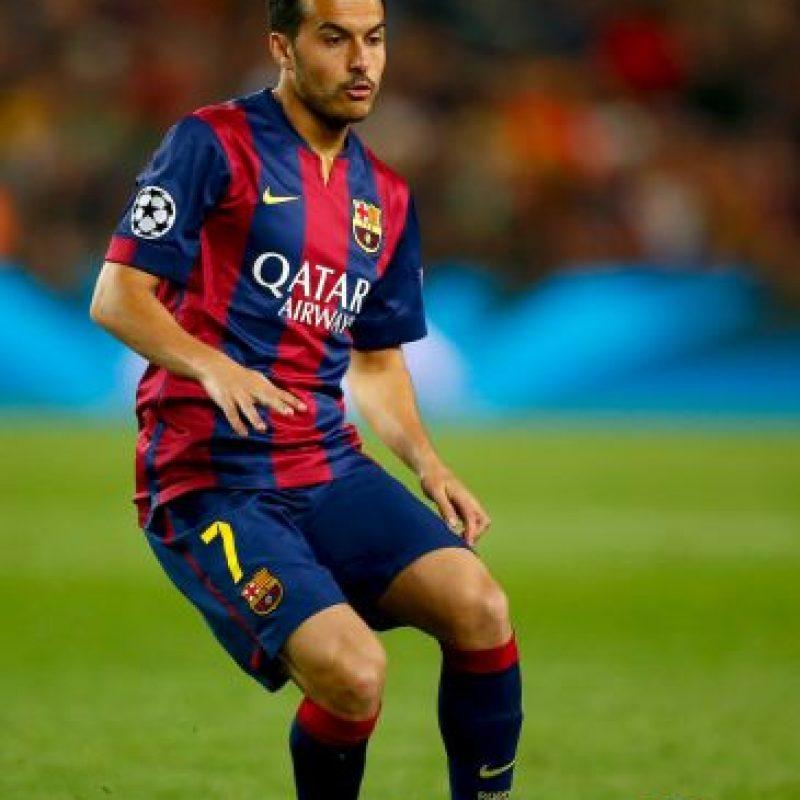 Pedro jugó un par de minutos Foto:Getty Images