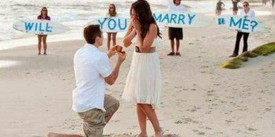 Esto nos da a conocer que los hombres que piden matrimonio, ralmente han tomado valor para atreverse a realizar este acto de amor. Foto:Tumblr