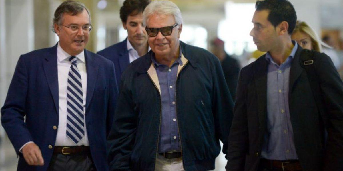 Felipe González llega a Venezuela para defender a los presos políticos