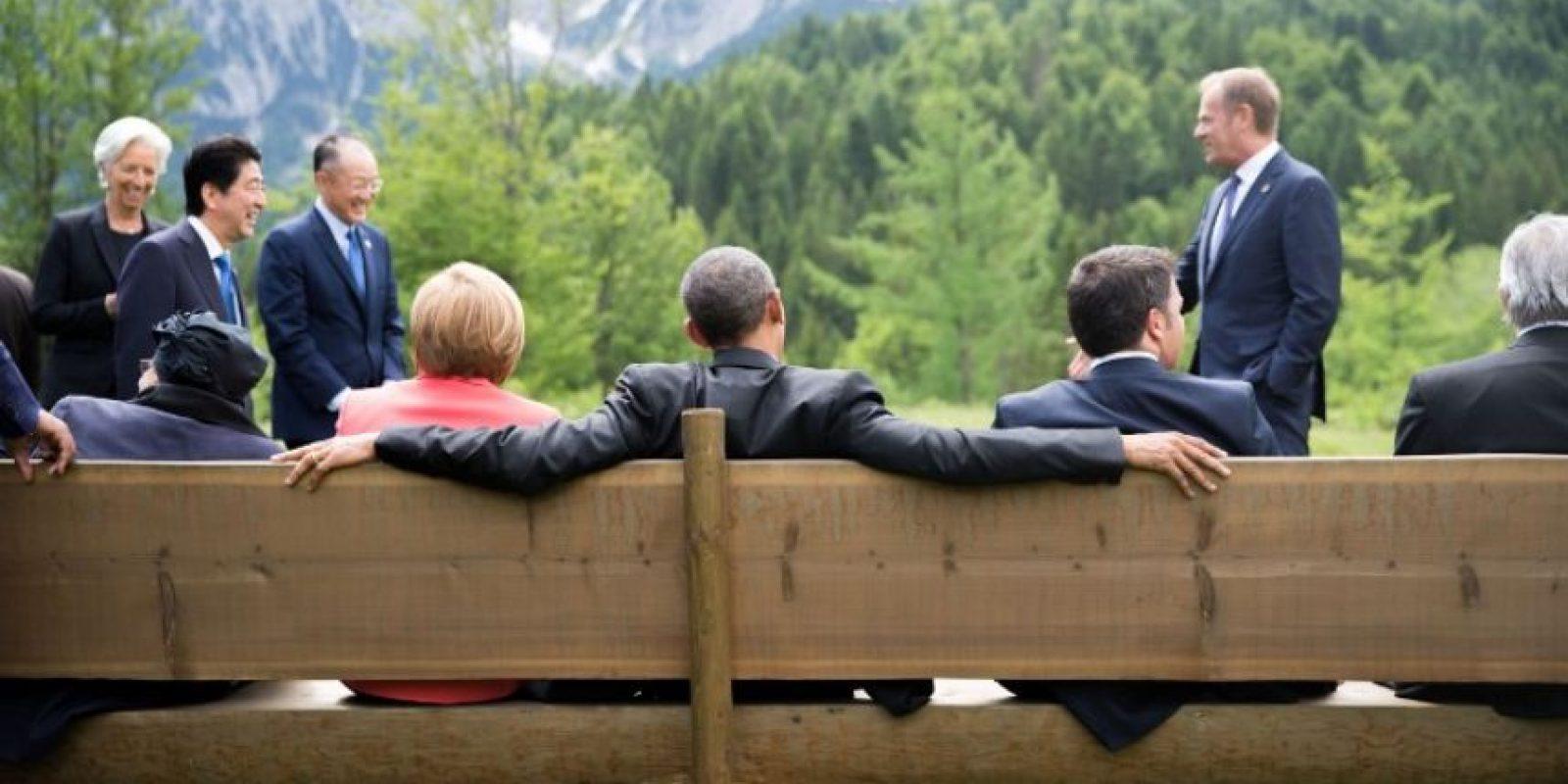 """""""El tiempo se está agotando"""", dijo en conferencia de prensa Angela Merkel sobre la negociación de la deuda para que Grecia se mantenga en la Eurozona. Foto:AFP"""