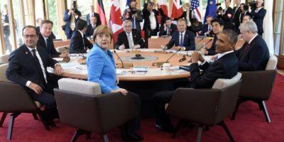 Angela Merkel, canciller de Alemania y anfitriona de la reunión, también anunció que se firmaron iniciativas para reducir en 500 millones el número de personas que padecen pobreza extrema y hambre, lo cual deberá suceder antes del año 2030. Foto:AFP