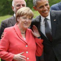 """""""Los líderes del G7 reafirmaron su apoyo a la soberanía e integridad territorial de Ucrania. Además condenan y mantienen su política de no reconocimiento a la ocupación de Rusia y el intento de anexión de Crimea"""", se lee en el comunicado emitido por la Casa Blanca. Foto:Getty Images"""