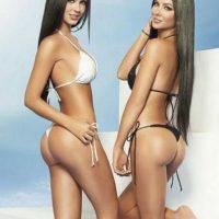 Mariana y Camila tienen 28 años Foto:Vía facebook.com/DavalosTwins