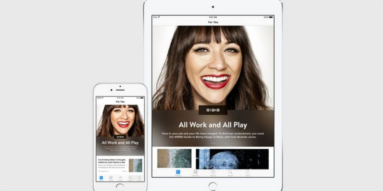 Tendrá aplicación para iPhone y iPad. Foto: Apple