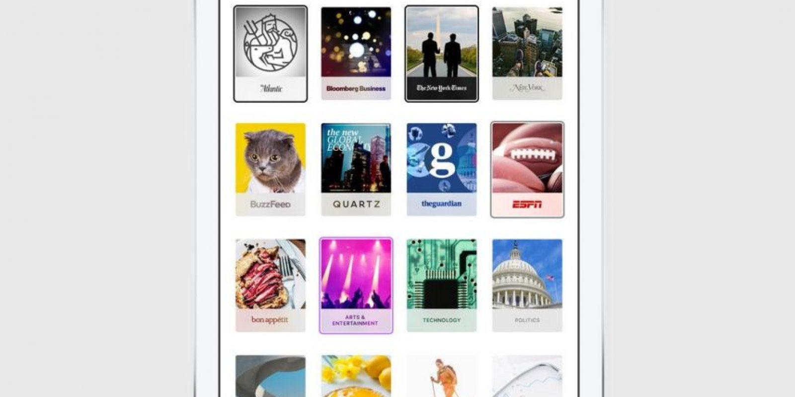 Hay más de un millón de temas a elegir. Foto:Apple