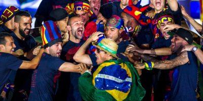 """Le envió un """"agradecimiento"""" a Kevin Roldán, un cantante colombiano de reggaeton, porque gracias a él """"comenzó todo"""". Foto:Getty Images"""