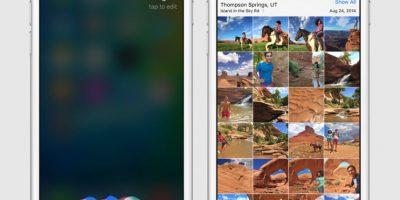 En la imagen pueden ver un ejemplo de como funcionaría el nuevo iOS 9 para iPhone Foto:Apple