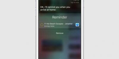 El cual podrá sincronizarse con Siri, además de otras aplicaciones como reproductores de música y aplicaciones de fotos Foto:Apple