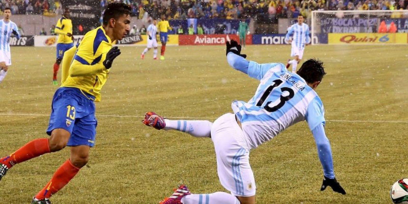 Ángel Mena (Ecuador). Un desgarre lo borró de la lista de 23 jugadores Foto:Getty Images