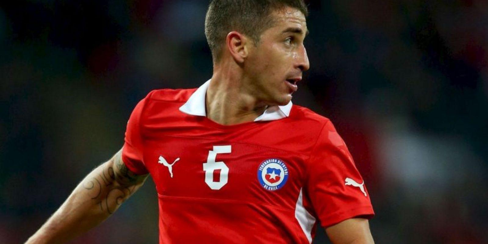 Carlos Carmona (Chile). Una lesión en la cadera lo marginó del torneo Foto:Getty Images