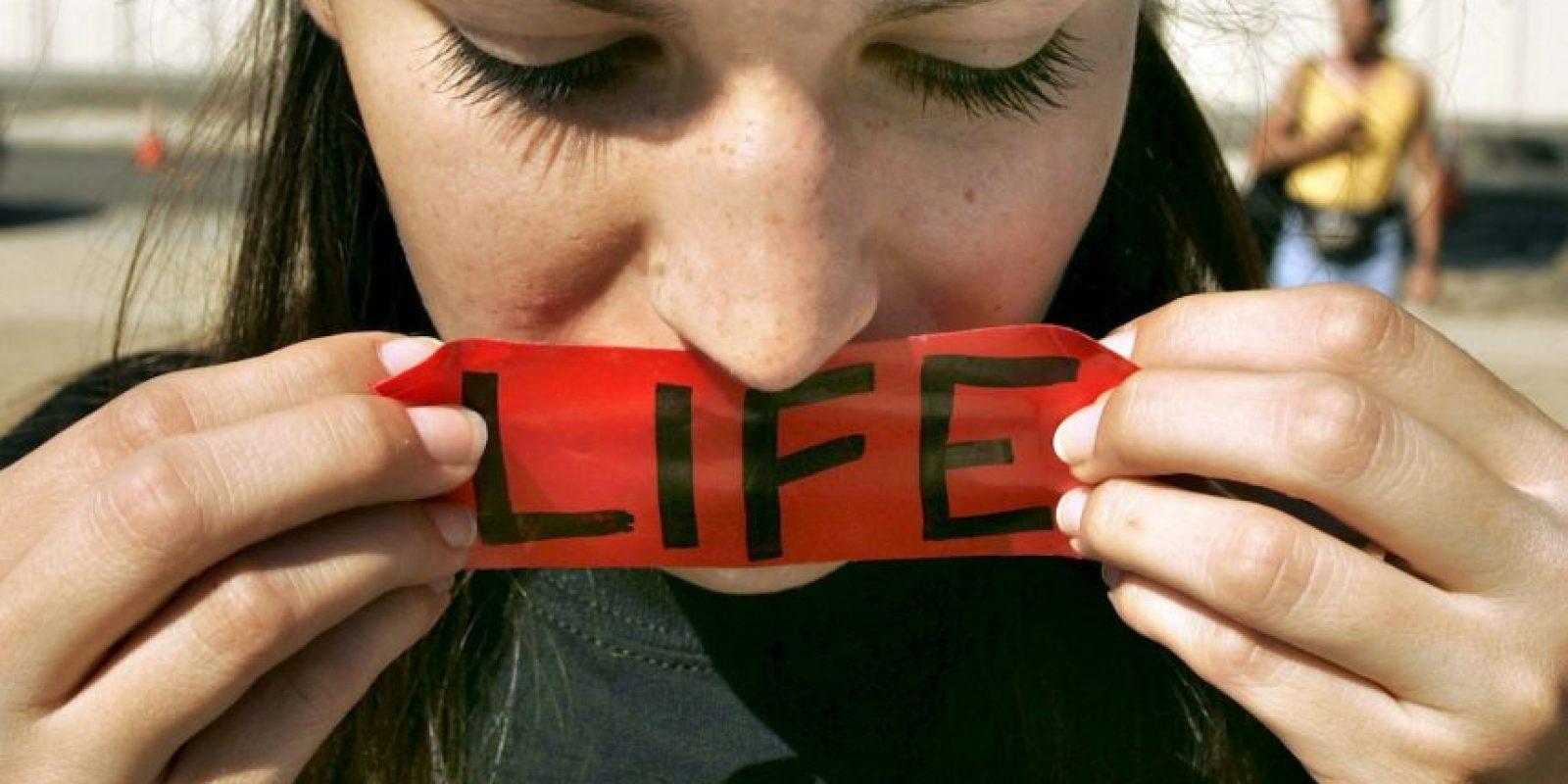 1. En Irlanda el aborto solo se le permite a las mujeres cuando su vida corre peligro. Foto:Getty Images