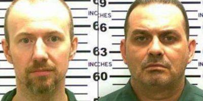 Osados. Muy osados y peligrosos. Así son David Sweat y Richard Matt, quienes estaban en una prisión de alta seguridad. Foto:vía AP
