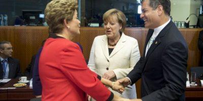 En total, esta cumbre reúne a un tercio de los miembros de las Naciones Unidas y a casi la mitad de los miembros del G-20. Foto:AFP