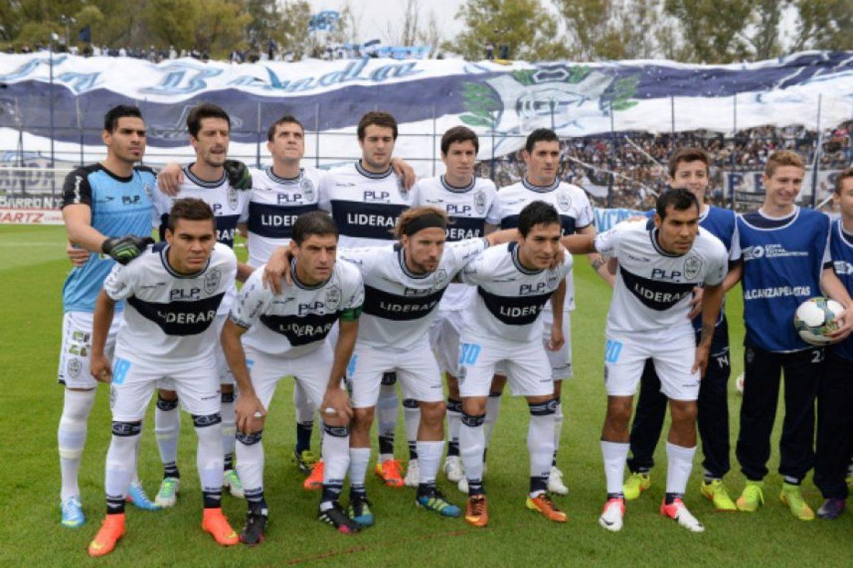Gimnasia y Esgrima La Plata (Argentina) Foto:Getty Images
