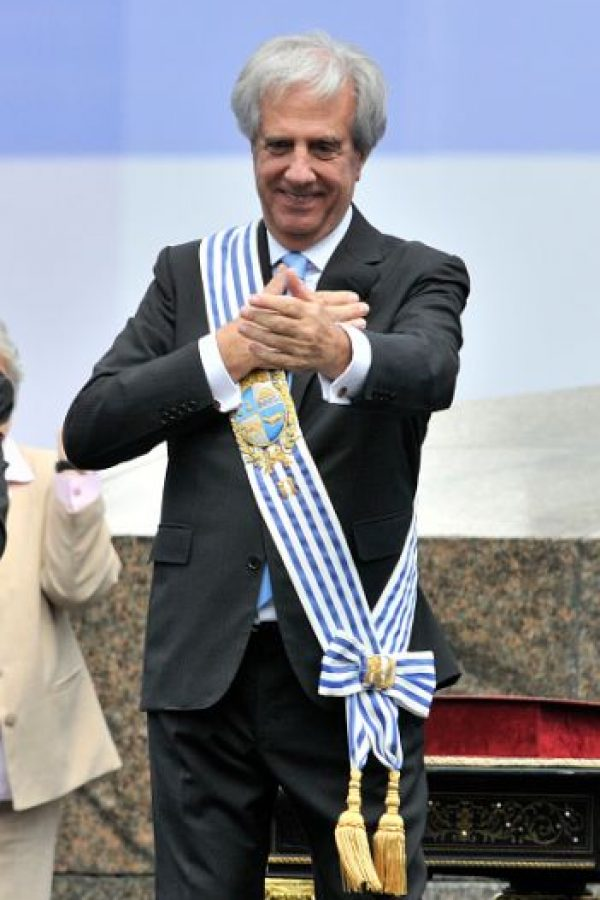 Tabaré Vázquez, presidente de Uruguay Foto:Getty Images