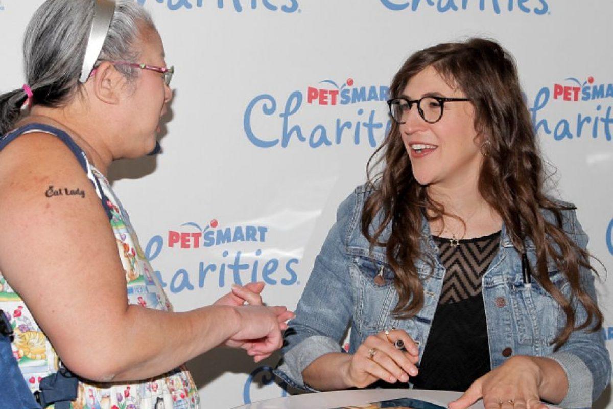 """Es activista vegana y autora, al paralelo que tiene su papel como """"Amy"""". Foto:vía Getty Images"""