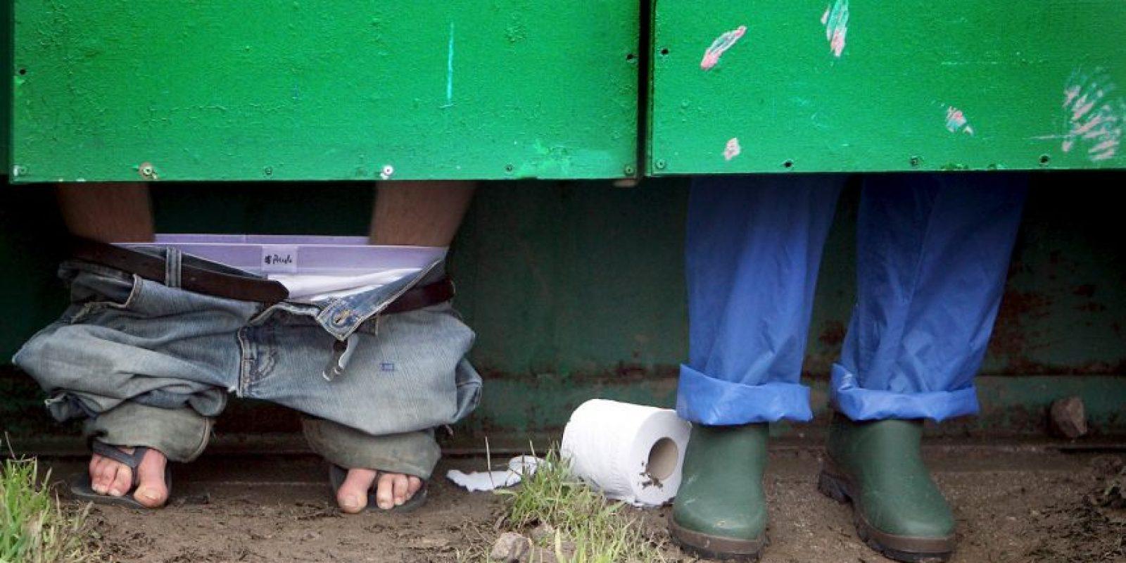 Con el 44 por ciento de las madres que manejan las heces de sus hijos al aire libre, hay un riesgo muy alto de contaminación microbiana (bacterias, virus, y la ameba) de agua que causa diarrea en los niños. Foto:Getty Images