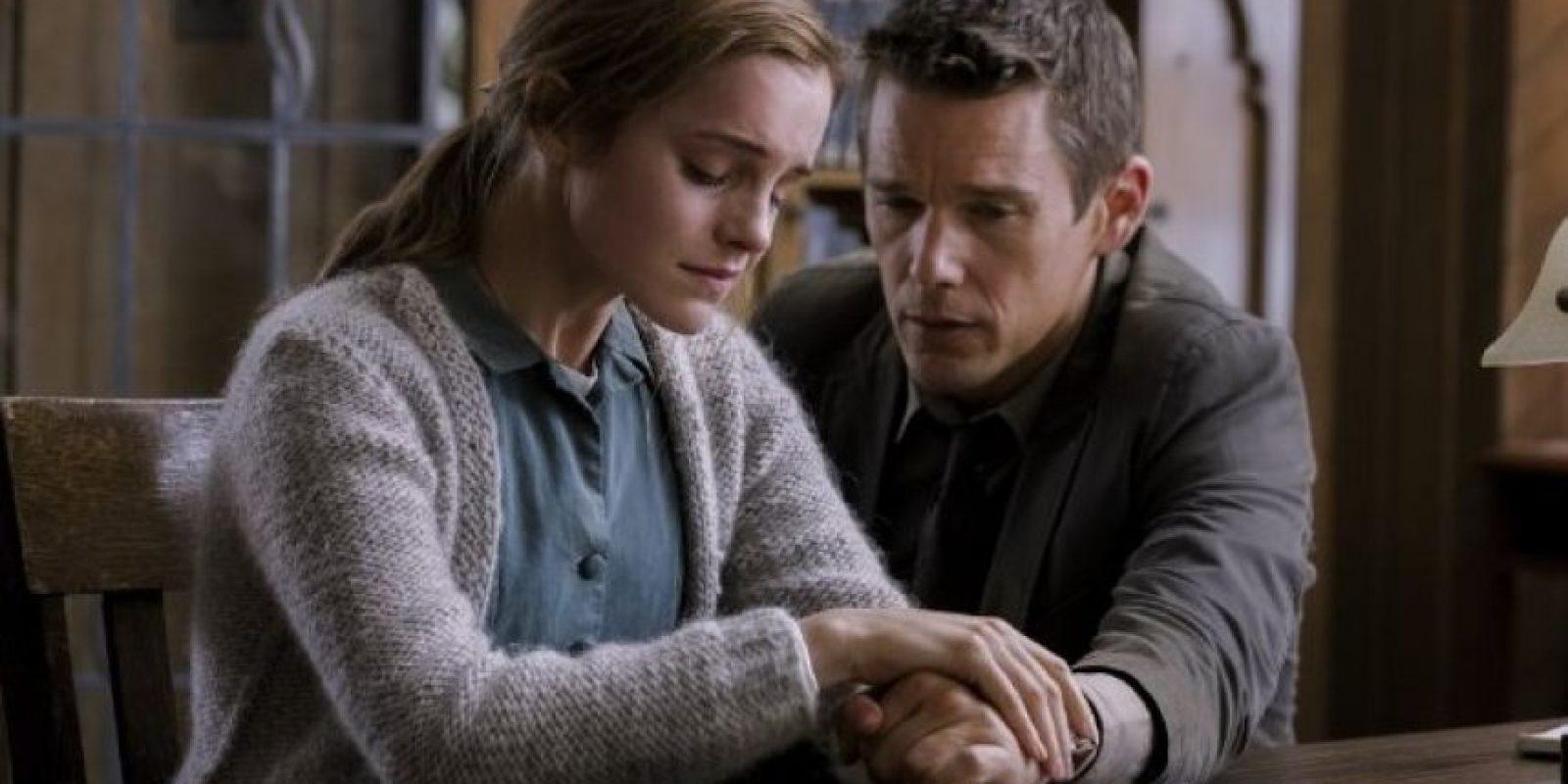 Emma Watson protagoniza el filme junto al actor Ethan Hawke. Foto:IMDb