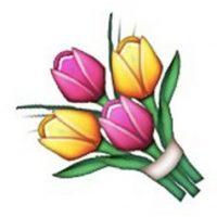 6) Ramo de diversas flores, ideales para toda ocasión. Foto:emojipedia.org