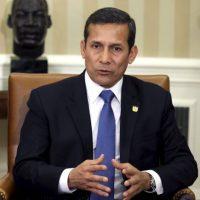 Ollanta Humala, presidente de Perú. Foto:Getty Images