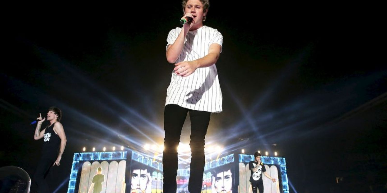 Ha sido captada varias veces con Niall Horan Foto: Getty Images