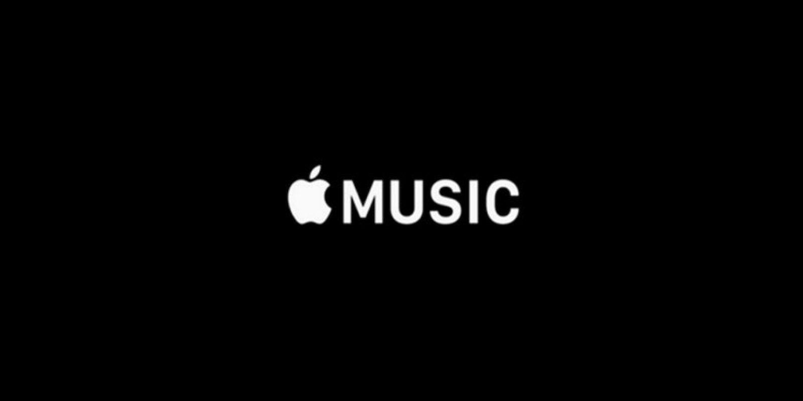 Apple Music fue presentada el pasado lunes. Foto:Apple