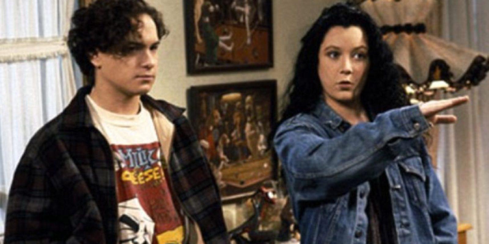"""Apareció luego en episodios de series televisivas, como """"Roseanne"""". Foto:vía ABC"""