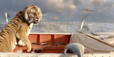 """El tigre de """"Una Aventura Extraordinaria"""" Foto:IMDB"""