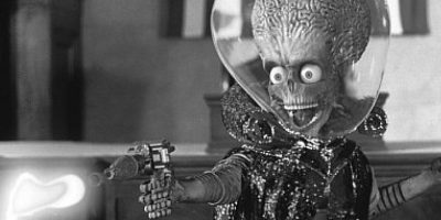 "El villano de ""Mars Attacks!"""