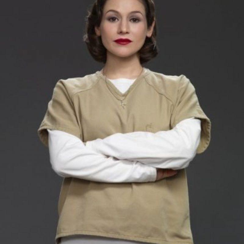 """Interpreta a """"Lorna Morello"""" Foto:IMDB"""
