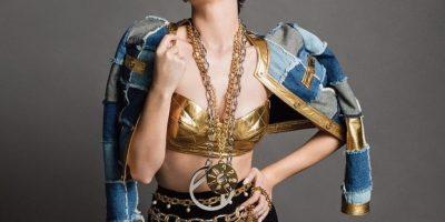 Desde febrero del año pasado, Katy únicamente había vestido diseños de Jeremy Scott. Foto:Instagram/KatyPerry