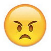 4) El un claro símbolo de que están enojados. Foto:emojipedia.org