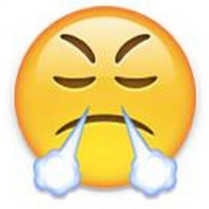 5) Enojo y frustración en un solo emoji. Foto:emojipedia.org