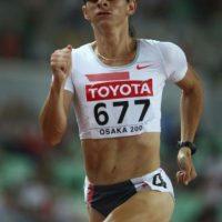 La velocista mexicana ganó la medalla de plata en los Juegos Olímpicos de Atenas 2004. Se convirtió en senadora, cargo que desempeñará hasta 2018 Foto:Getty Images