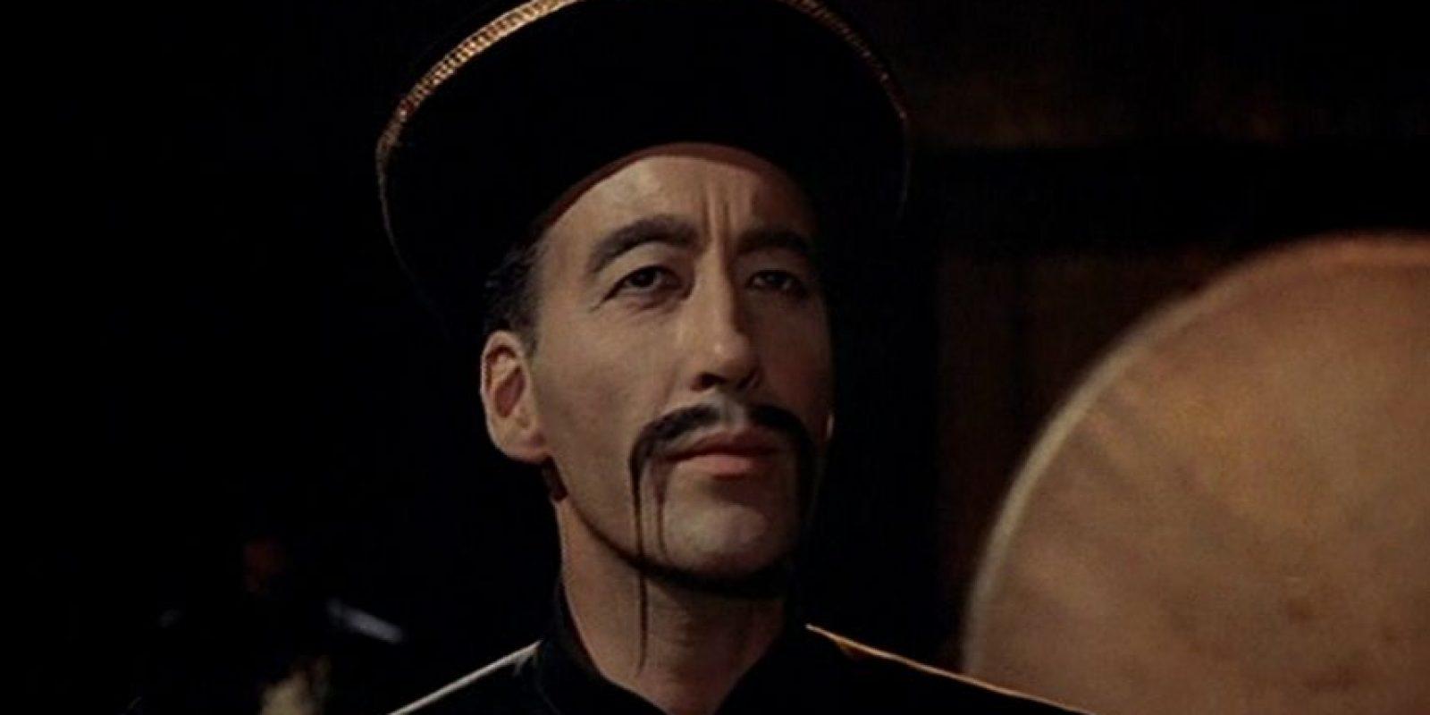 """Dirigida por el español Jess Franco, """"Fu Manchu"""" fue uno de los personajes recurrentes en la filmografía de Lee. Foto:Vía imdb.com"""
