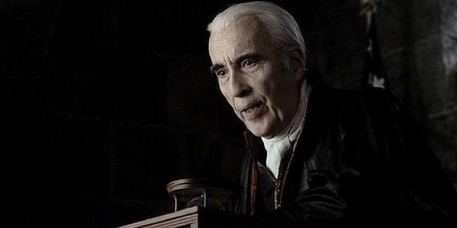 """Tim Burton lo llevó a la pantalla grande para que interpretará a """"Burgomaster"""". Foto:Vía imdb.com"""