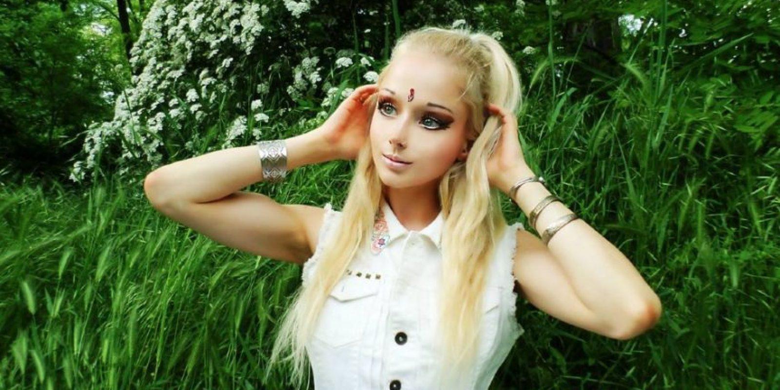 Quiso esperar a que su aspecto fuera el mismo, luego de haber sufrido golpes muy fuertes en el rostro. Foto:Vía Facebook/ValeriaLukyanova