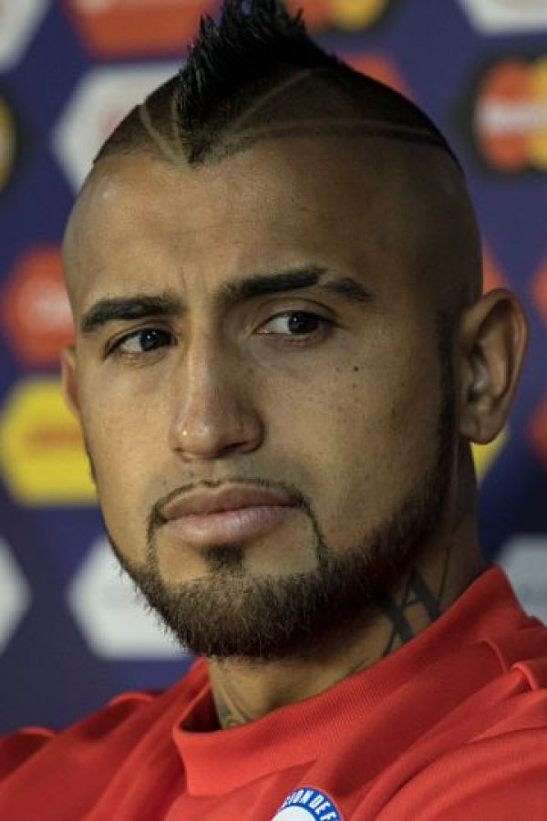 1. Arturo Vidal (Chile) Foto: Getty Images