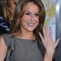 Está casada con Carlos Pena, de la banda Big Time Rush. Foto:vía Getty Images