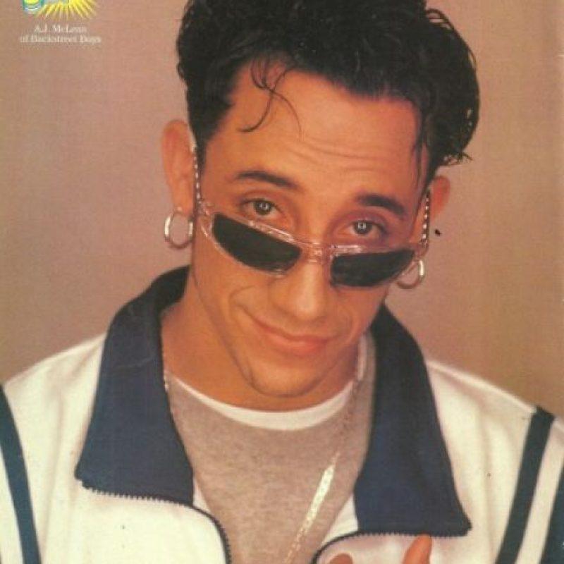 El integrante de Backstreet Boys también fue víctima de la pérdida de cabello Foto:Ebay