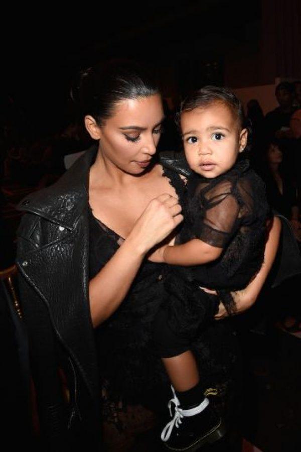 """Kim Kardashian y Kanye West inscribirán a Nori a clases para que aprenda a ser una """"buena hermana mayor"""". Foto:Getty Images"""