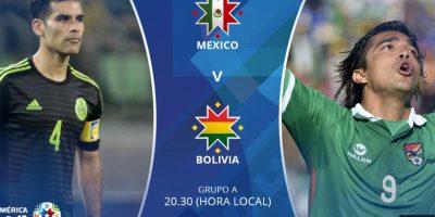 """El """"Tri"""" nunca ha vencido a la """"Verde"""" en la copa que reúne a las mejores selecciones del continente Foto:Via ca2015.com"""