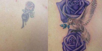 9. Una gran diferencia Foto:TattooJoy