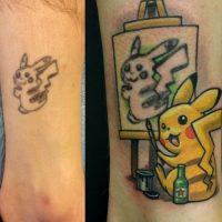 ¿Les gustó? A continuación más tatuajes mejorados. Foto:Imgur