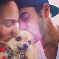 """También tuvo un perro llamado """"Figo"""". Foto:Vía instagram.com/iscoalarcon"""