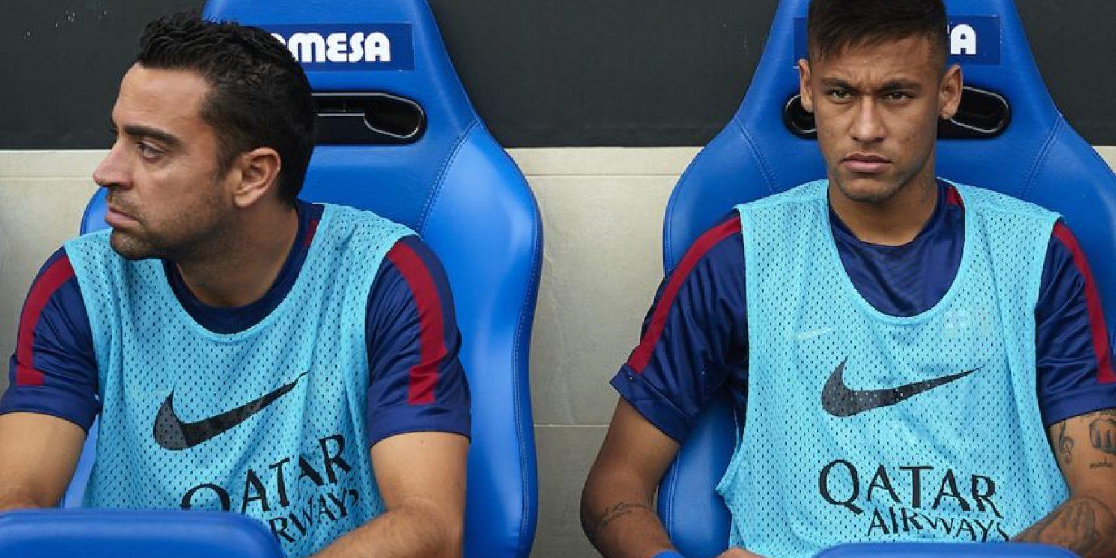 Xavi Hernández, ya como futbolista del Al Sadd, le lanzó unos dardos a su excompañero Neymar. Foto:Getty Images
